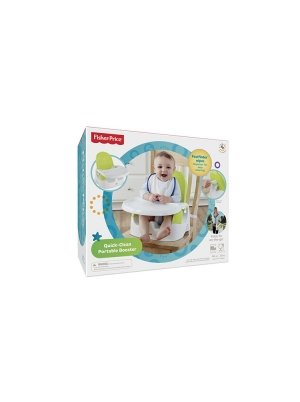 Fisher Price Baby Gear Quick Clean Portable Booster
