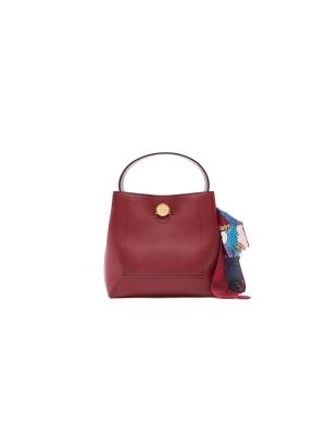 Vintage Scarf Satchel Bag
