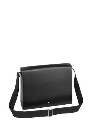 Sartorial Messenger Bag Black