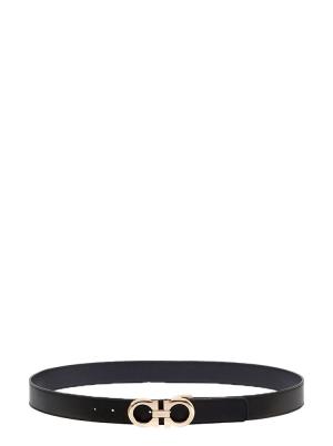Reversible and Adjustable Gancini Belt