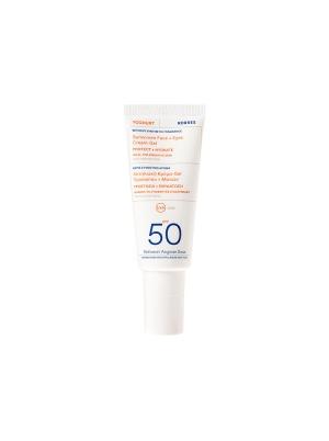Yoghurt Face & Eyes Sunscreen SPF50 Fragrance free 40ml