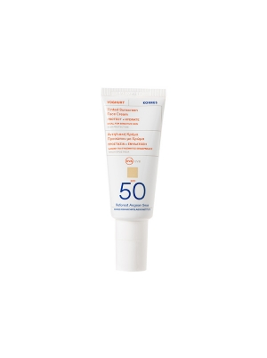 Yoghurt Tinted Face Sunscreen SPF50 40ml