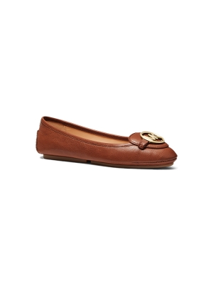 Lillie Leather Moccasin