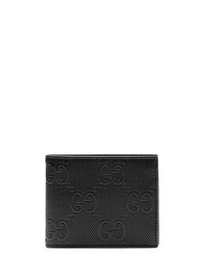 GG embossed wallet