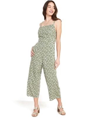 Square-Neck Cami Jumpsuit for Women