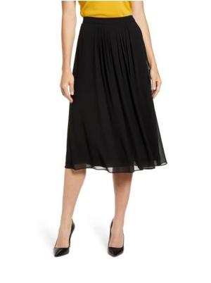 Georgette Pleated Skirt