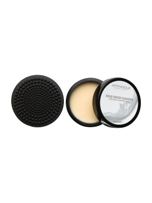 Mini Solid Brush Cleanser with Scrub Pad