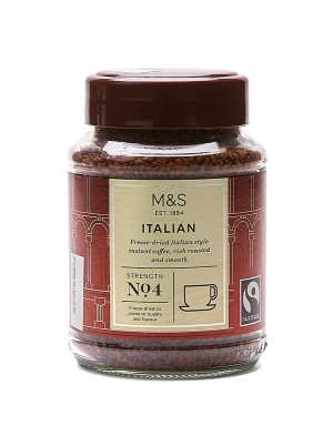 Italian Freeze-Dried Instant Coffee
