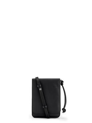 Flat Gusset Crossbody bag in smooth calfskin