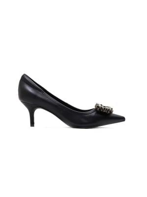 Embellished Pointy Front Heels