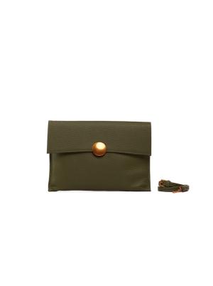 Double Flap Clutch Bag