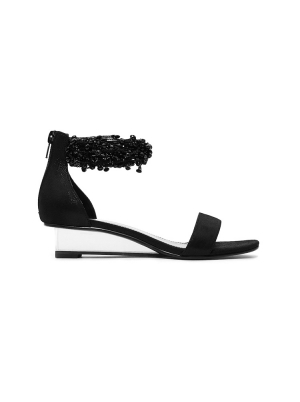 Embellished Ankle Strap Sandal