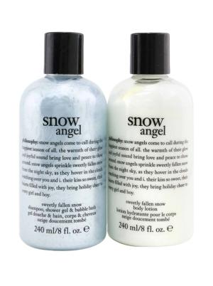 Snow Angel Duo: Shower Gel 240ml + Body Lotion 240ml