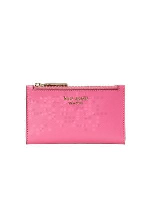 spencer small slim bifold wallet crushed watermelon