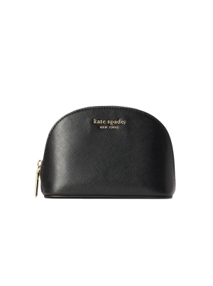 spencer small dome cosmetic case black