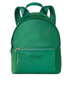 nylon city pack medium backpack forest night