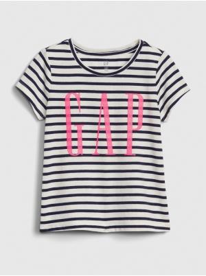 Toddler Glitter Gap Logo Stripe T-Shirt