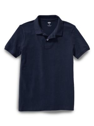 Uniform Built-In Flex Pique Polo for Boys
