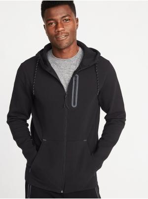 Dynamic Fleece Zip Hoodie for Men