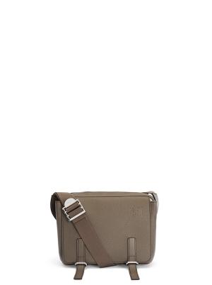XS Military messenger bag in soft grained calfskin