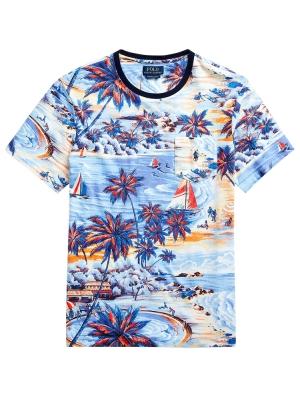 Custom Slim Tropical T-shirt