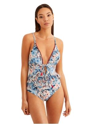 Printed trikini
