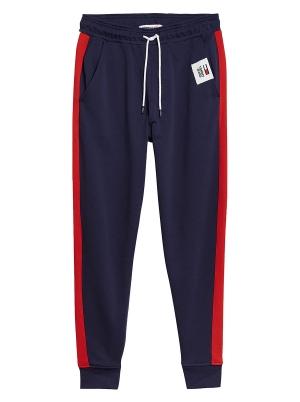 Tommy Jeans Men's Mix Media Basketball Pant