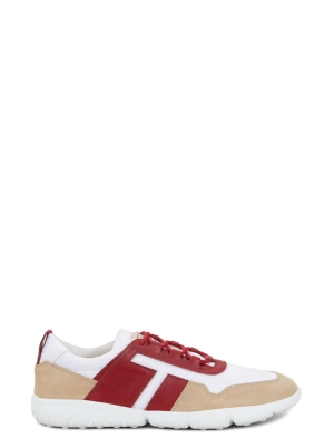TOD'S COMPETITION SNEAKERS IN NUBUCK AND HIGH TECH FABRIC